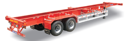 40' / 2 axles chassis